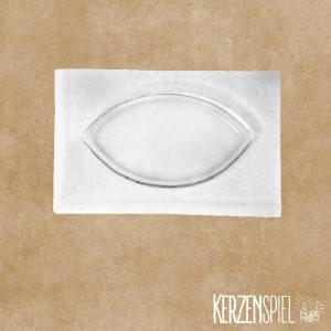 Glasschale Oval