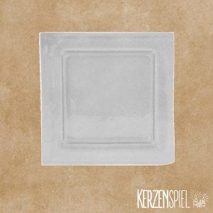 Glasschale Quadrat